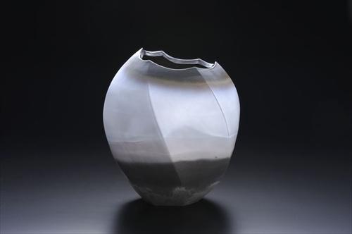 3.白雲彩六面花器