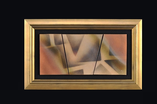 44.炎彩陶額
